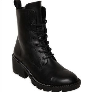 Kendall & Kylie Combat Boots Size 6